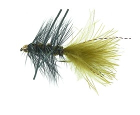 B.H. Rubber Leg Wooly Olive Daiichi 1720 # 8