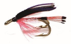 Bloody Butcher Silver/Red Mustad 3582 # 10