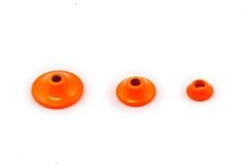 Fits Brass turbo cones - fl orange micro