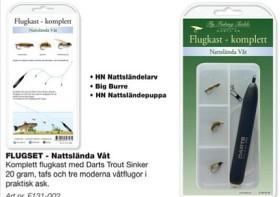 Flugset - Nattslända Våt