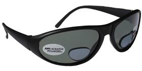 Glasögon Polariserande grå lins uv 400 m. +2,0