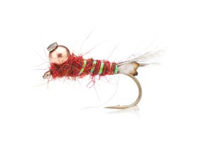 Hare's Ear Jig (BH) Copper Red TMC 3761 # 12