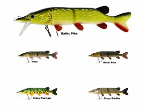 Mike the Pike 170 mm 42 g Slow Sink