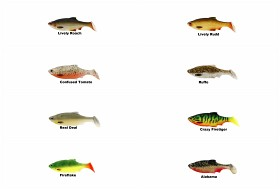 Ricky the Roach Shad 7cm 5-pack