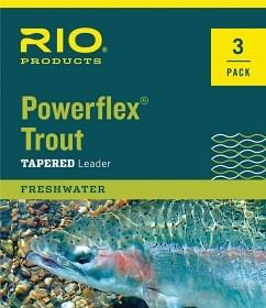 RIO Powerflex TroutLeader 9 ft 3 Pack