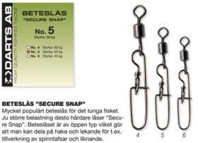 Darts Beteslås SECURE SNAP
