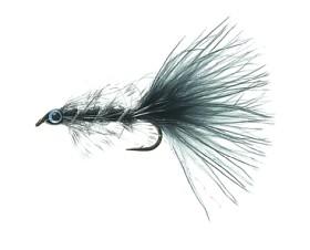 Swim Bugger Black Daiichi 1720 # 8
