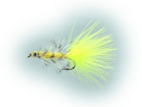 Swim Bugger Fluo Yellow Daiichi 1720 # 8