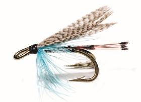 Telemarkskongen Silver/Blue Mustad 3582 # 10