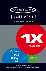 Vision Nano Mono Flugtafs 9´
