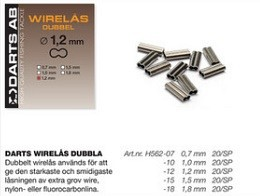 Darts Wirelås Dubbla