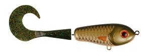 Wolf Tail, shallow, 90gr, 23cm, Golden Olive - Mossgreen