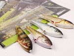 BFT JigSkinz, 3 sizes, 6 pcs - Perch