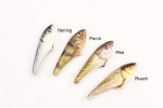 BFT JigSkinz, 3 sizes, 6 pcs - Pike