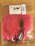 Bucktail piece - Fluo red