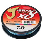 Daiwa J-Braid Grand X8 300m Multi Color Flätlina