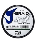 Daiwa J-Braid X4E-135M Dark Green