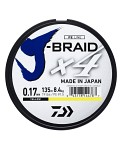 Daiwa J-BRAID X4E-135M YELLOW