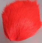 Deer Belly Hair - fluo red