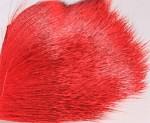Deer Body Hair - red