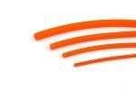Fits Tubing - fl orange xs