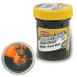Glitter Trout Bait 50g Black Orange