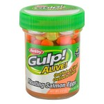 Gulp Alive Salmon Eggs Orange Comet