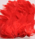 Hen Patches/Soft Hackle - Red