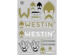 Klistermärken Westin A4 Ark