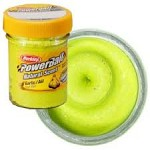 Powerbait Natural Scent Garlic Chartreuse