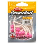 PowerBait floating micetails bubbelgum/White