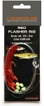 Red Flasher Rig- Storlek 6