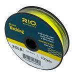 RIO Backing 20Ib 91m Chartreuse