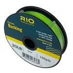 RIO Backing 20Ib 91m Green