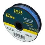 RIO Backing 20Ib 91m Light Blue