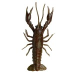 SG LB 3D Crayfish 8cm 4g F 4pcs Magic Brown