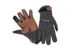 Simms LW Wool Tech Glove Carbon
