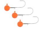 SPRO Round Orange Jigg huvud