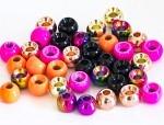 Tungsten Beads 4,6mm - Fluo Red