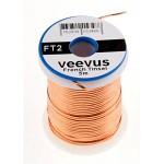 Veevus Oval Tinsel #L, Copper