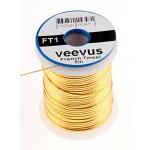 Veevus Oval Tinsel #L, Gold