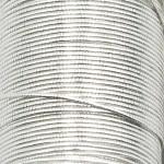 Veevus Oval Tinsel #L, Silver