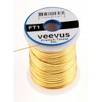 Veevus Oval Tinsel #M, Gold