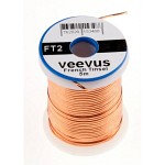 Veevus Oval Tinsel #S, Copper