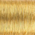 Veevus Oval Tinsel #S, Gold