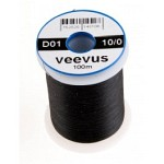 Veevus thread 10/0, Black