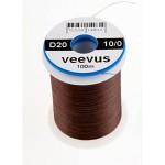 Veevus thread 10/0, Dark Brown
