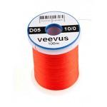 Veevus thread 10/0, Hot Orange