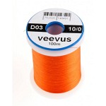 Veevus thread 10/0, Orange