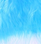Wolly Bugger Marabou - Fluo Blue